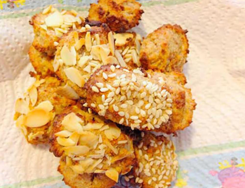 Mandomele- Biscottini di mandorle e mele