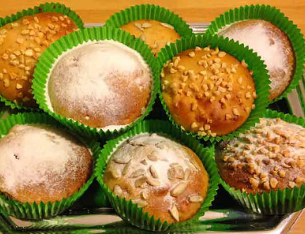 Muffin di mele senza latte ne uova